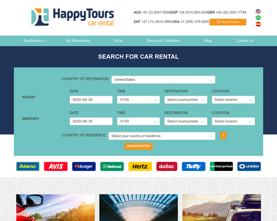 Happy Tours Car Rental